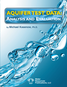 AQUIFER TEST DATA: ANALYSIS AND EVALUATION Book image
