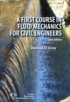 FIRST COURSE IN FLUID MECHANICS FOR CIVIL ENGINEERS Book image