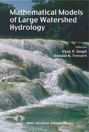 MATHEMATICAL MODELS OF LARGE WATERSHED HYDROLOGY Book image